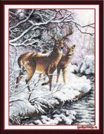 Creekside Deer 351820 / Олени у ручья (США)