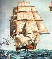 Clipper Ship Voyage 03886 / Путешествие Клипера