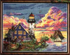 Lighthouse Sunset 2923 / Закат солнца на маяке