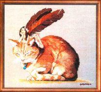 Fairycat 152-A051 K / Фея на кошке