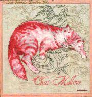 Chat-Mallow 116-P006 K / Розовый кот