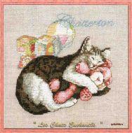 Chatterton 117-P007 K / Кот с игрушками