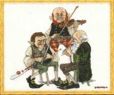 Uilleann Pipe 13-A009 K / Гномы-музыканты
