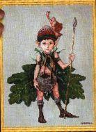 Lutin des Chenes 36-A0021 K / Эльф с дубовым листочком