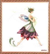 Water Lily NC-166 / Фея водная лилия