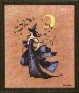 Raven Bewitching Pixies NC-222 / Ведьмочка Ворона