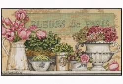 Flowers of Paris 35204 / Цветы Парижа