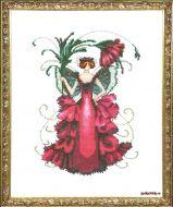 Zinnia Pixie Blossoms Collection NC-196 / Фея Циния