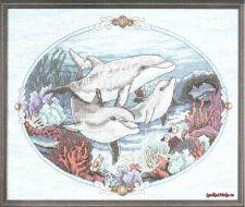 Charming Dolphins 72427 / Очаровательные дельфины