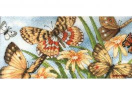 Butterfly Vignette 65055 / Виньетка с бабочками