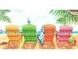 Beach Chairs 70-35325 / Пляжные кресла