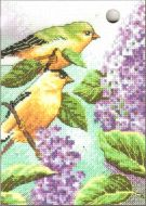 Goldfinch and Lilacs 70-65153 / Щеглы и сирень