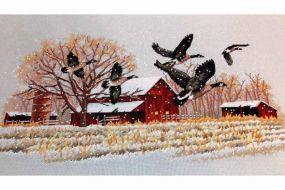 Winter Geese 013732 / Зимние гуси