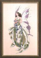 Julys Amethyst Fairy MD-59 / Июльская аметистовая фея (схема)