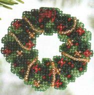 Holly Wreath MH18-6303 / Рождественский венок