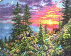 Sunset Mountain Trail 70-35383 / Закатная горная тропа
