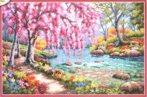 Cherry Blossom Creek 70-35374 / Вишнёвый ручей