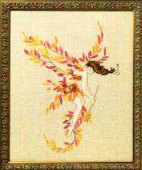 Glittering Leaves NC253 / Сверкающие листья