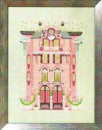The Pink Edwardian House NC-283 / Розовый Эдвардский дом