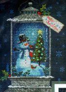 Snowman Lantern 70-08987 / Фонарь снеговика