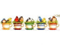 Teacup Birds 70-35394 / Птицы в чайных чашках