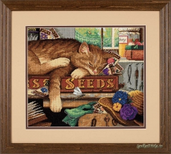 Remington the Cat 20064 / Кот-садовод