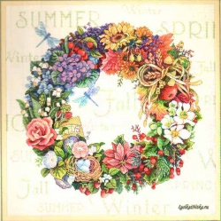 Wreath of all Seasons  35040 / Венок все сезоны