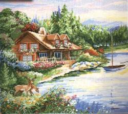 Lakeside Cabin 2767 / Домик у озера