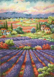 Fields of Lavender 70-35299 / Лавандовые поля
