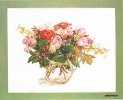 Розы и виноград FU-611
