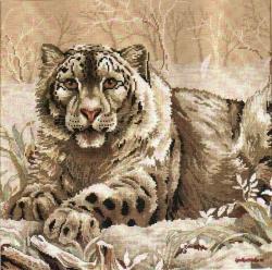 Snow leopard 3835 / Снежный леопард