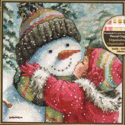 A Kiss for Snowman 70-08833 / Поцелуй для Снеговика