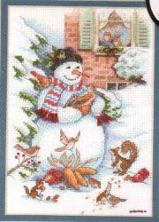 Snowman & Friends 8801 / Снеговик и Друзья