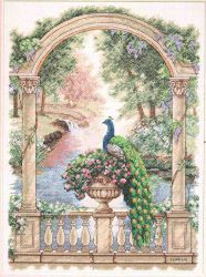 Majestic Peacock 35110 / Величественный Павлин