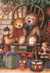 Christmas Teddies 8721 / Рождественские мишки