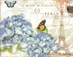 Paris Hydrangea 70-35307 / Парижская Гортензия