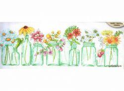 Mason Jar Lineup 70-35310 / Цветы в баночках
