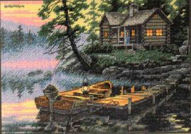 Morning Lake 65091 / Утреннее Озеро