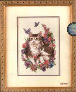 Kittens and Butterflies 6885 / Котята и Бабочки