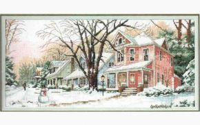 Winter on Main Street 13713 / Зима на Главной Улице