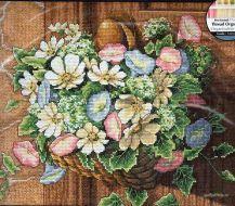 Flowers on Doorknob 13716 / Цветы на Двери