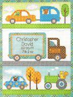 Baby Happi Transport Birth Record 70-73561 / Детская Метрика Детский транспорт