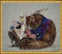 Le Challigraphe (Catligrapher) 103-P001 K / Кот-Каллиграфист