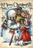 Vintage Merry Christmas 8744 / Веселое Рождество