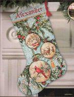 Enchanted Ornaments Stocking 70-08854 / Сапожок Зачарованные Украшения