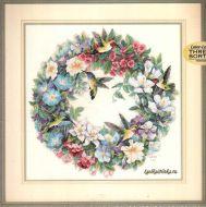 Hummingbird Wreath 35132 / Венок и колибри