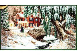 Winter Lace 35111 / Зимние кружева