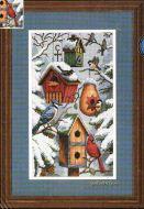 Winter Birdhouses 35004 / Скворечники зимой