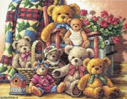 Teddy Bear Gathering 35115 / Собрание плюшевых мишек