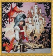 Le Petit Chevalier (The Little Knight) 120-B001 K / Маленький Рыцарь